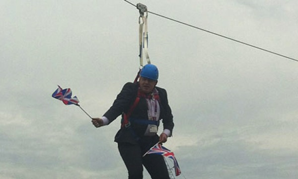 Can we look forward to more #danglingBoris?