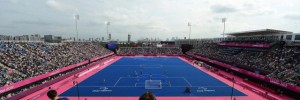 The Riverbank Arena hosts football during the Paralympics. Image from London2012.