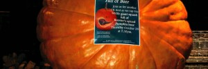 A pumpkin full of beer at the White Horse in 2010