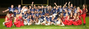 Picture of the victorious 2012 BritBowl Champions courtesy of the London Blitz