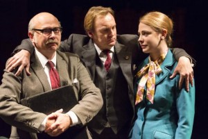 Vincent Franklin, Philip Glenister and Lauren O'Neil in This House