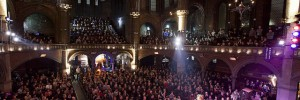 Inside Union Chapel, by Ben Yacobi