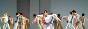 Marianela Nuñez and artists of The Royal Ballet in Kenneth MacMillan's Requiem (Image: Tristram Kenton)