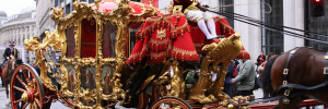 Look out for the Lord Mayor's gold coach on Saturday