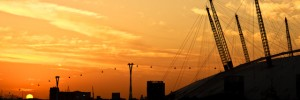 Sunrise over East London I