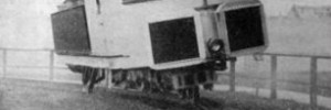 A monorail, pictured in 1907