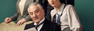 Deborah Findlay (Grace), Henry Goodman (Arthur), Nick Hendrx (Dickie) and Naomi Frederick as Catherine in The Winslow Boy. Photo by Jay Brooks