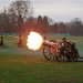 Gun salutes today at Hyde Park and the Tower of London. Image by Sinister Pictures in the Londonist Flickr pool.