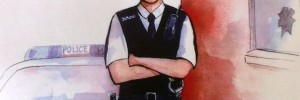 &quot;Confessions of Frank Lampard in Police Uniform&quot;, more like.