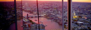 Sunset from the Shard. Photo / Chic*ka