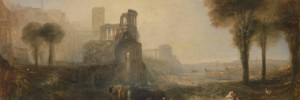Joseph Mallord William Turner Caligulas Palace and Bridge exhibited 1831 Tate