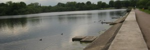 Aldenham Reservoir. Built by the French.