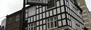 Surrey Street Market, by Royal Charter in 1276. King Edward I probably wasn&#039;t thinking of the KFC, though.